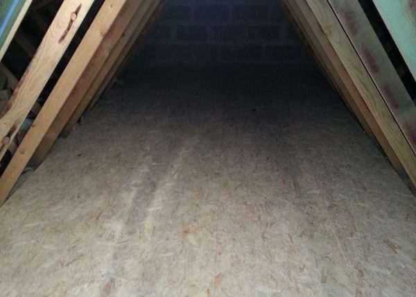 Attic Flooring Supplied and Installed