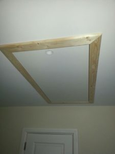 Completed Attic Hatch