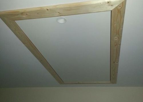 Closed Attic Stairs Hatch Installed in Cork Ireland