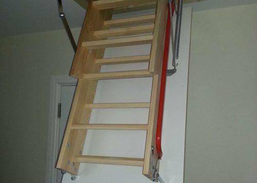 Folding Attic Stair
